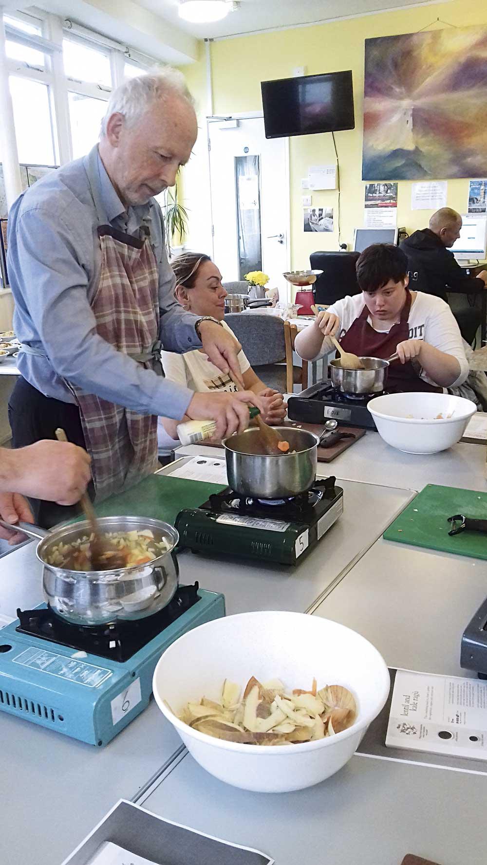 Cookery workshop